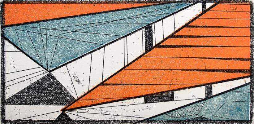 Autor: Ignacio Aldana / Técnica: aguafuerte / 10x20 cm / Ed: 50