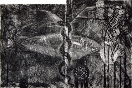 Humberto Baca - Toño Camuñas (alimón) / aguafuerte / 52x78 cm - 66x108 cm / Ed: 12