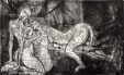 Humberto Baca - Cornelio Garcia (alimón) / aguafuerte / 49x80 cm - 80x108 cm / Ed: 24