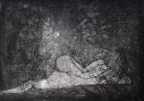 Humberto Baca - Emanuel (alimón) / aguafuerte / 49x69 cm - 80x108 cm/ Ed: 18