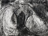 Autor: Humberto Baca / Título: Arquitectura íntima / Técnica: aguafuerte y buril / Medida placa 29x39 cm - papel: 43x54 cm / Ed: 13