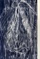 Autor: Humberto Baca / T: Lili azul / xilografía / 95x64 cm / Ed: 13