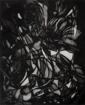 Autor: Humberto Baca / T: Manera negra / manera negra / 455x365 mm - 80x54 cm / Ed: 45