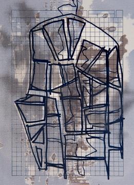 Autor: Alberto Castro Leñero / serigrafía / 28x20 cm - 47x39 cm / Ed: 48