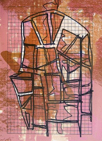 Autor: Alberto Castro Leñero / serigrafía / 40x29 cm - 50x38 cm / Ed: 22