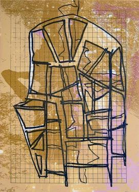 Autor: Alberto Castro Leñero / Técnica: serigrafía / Tamaño placa 40x29 cm - papel 51x39 cm / Edición: 22