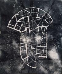 Autor: Alberto Castro Leñero / aguafuerte y aguatinta / 54x49 cm - 78x61 cm / Ed: 24