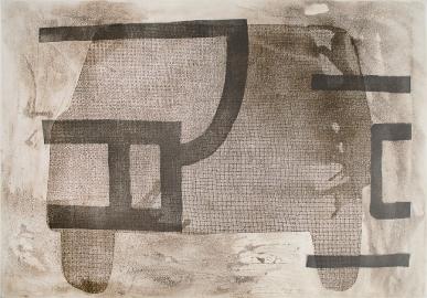 Autor: Miguel Castro Leñero / Título: Coche 1 / Técnica: aguafuerte y aguatinta / Edición: 12