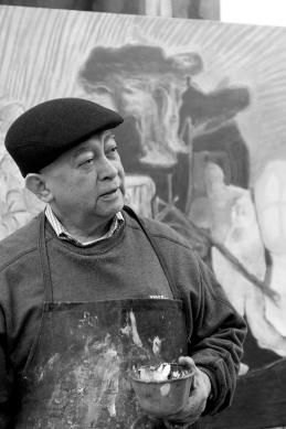 Gilberto Aceves Navarro 2010 De la serie Retratos de la plastica mexicana