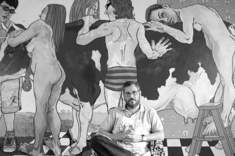 Juan Carlos Macias 2010 De la serie Retratos de la plastica mexicana
