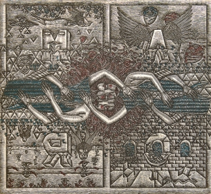 Autor: Benito Zamora / Título: Amor / Técnica: aguafuerte / Medida placa 45x49 cm - 79x66 cm / Edición: 70